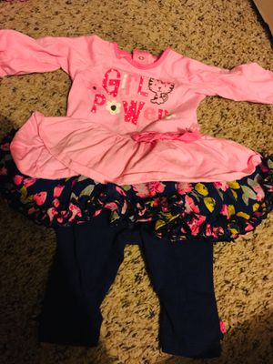 0-3 4-6 months baby girl clothes for Sale in Fresno, CA