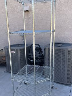 METAL CART WITH SHELVES for Sale in Sun City,  AZ