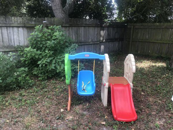 Lil Tikes -swing n slide-