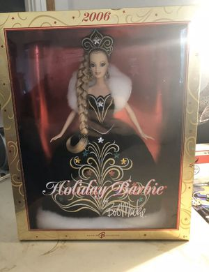 2006 Holiday Collector Barbie with Bob Mackie Gown NIB for Sale in Lowellville, OH