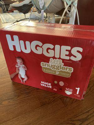 Huggies Diaper size 1 - 168 count for Sale in Doraville, GA