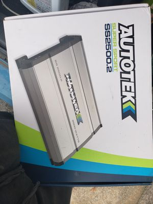autotek amp for Sale in Farmville, VA