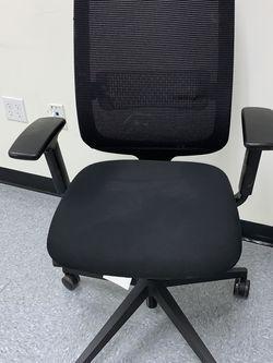 New Steelcase Reply Chair with Black Fabric Seat for Sale in Boston,  MA