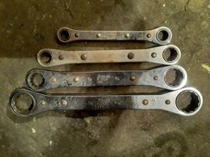 Snap-On SAE Ratcheting Double Box-End Wrench Set for Sale in Bell Gardens, CA