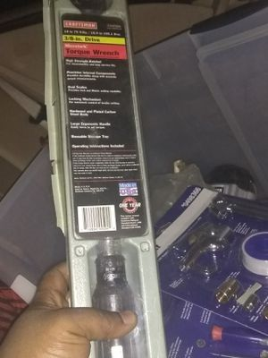Craftmens torque wrench for Sale in Glenarden, MD