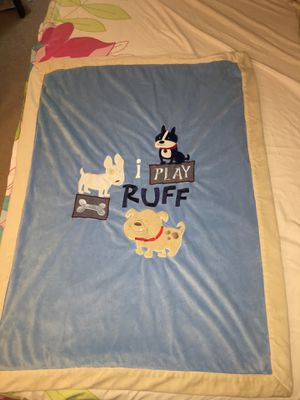 Baby and toddler blanket for boys from toys r us for Sale in Alexandria, VA