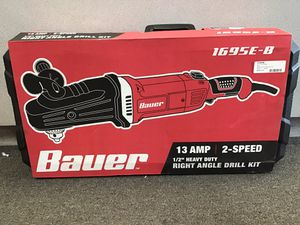 BAUER 1695E-B RIGHT ANGLE DRILL KIT for Sale in Jacksonville, FL