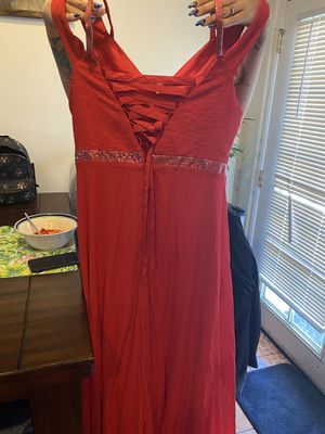 Red prom dress xxl for Sale in Palm Springs, CA
