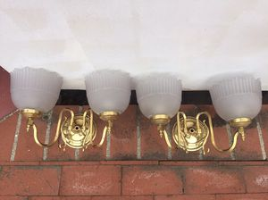 Pair of light fixtures for Sale in Los Angeles, CA