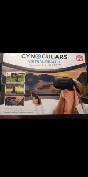 Virtual reality CYNOCULARS BY HYPE 360 Viewing for Sale in Elk Grove, CA