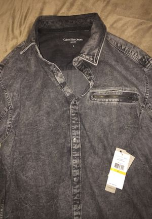 Calvin Klein button up for Sale in Harper Woods, MI