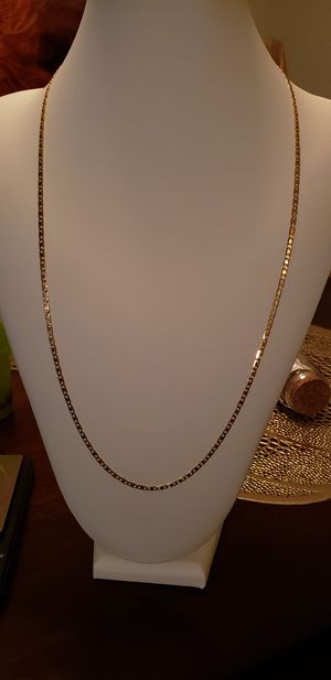 "18k Solid Gold Mariner Link Chain 26"" /7.84g/ 2.65mm thick for Sale in Orlando, FL"