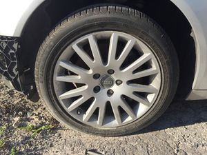 Audi A6 2007 rims r17 and Pirelli tires like new oem for Sale in Miami, FL