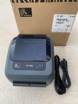 Zebra 505 Thermal Label Printer for Shipping FedEx/UPS/USPS/ShipStation/ShipWorks/Endicia/Stamp_com for Sale in Diamond Bar, CA