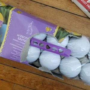 Plaster Eggs To Color for Sale in Appleton, WI