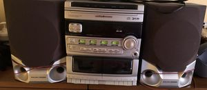 Philips Magnavox three disc CD player along with two cassette tape player. for Sale in Wareham, MA