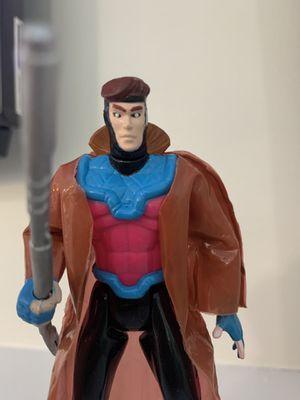X-men Gambit 5 Inch Vintage Action Figure 1992 Toy Biz Loose Super Hero Marvel for Sale in Fayetteville, NC