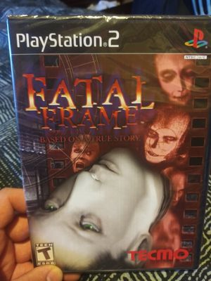 Fatal frame sealed PS2 for Sale in Visalia, CA