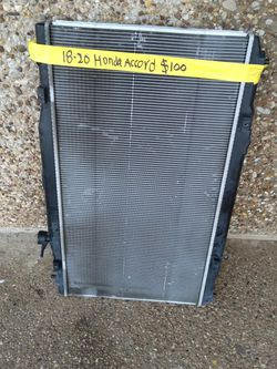 2018-20 Honda Accord Radiator for Sale in Irving,  TX
