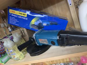 """7"""" angle grinder for Sale in New Houlka, MS"""