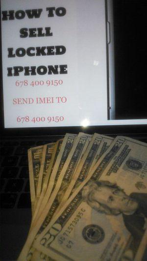 Bring LOCKED IPhone 8+ 7 plus x xs xr for Sale in Atlanta, GA