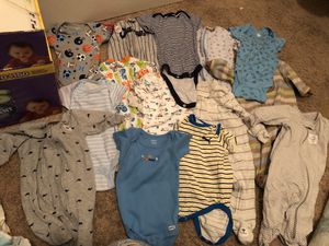 Newborn and 0-3 sleepers used for Sale in Aberdeen, MD