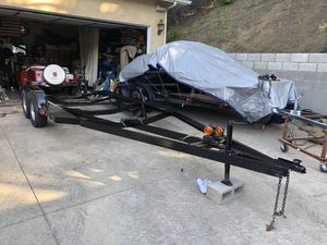 21FT Trailer With electric brakes for Sale in Glendale, CA