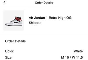 Air Jordan 1 retro og size 10 for Sale in Oceanside, CA