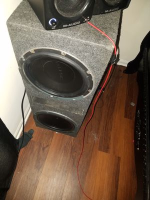 12' eclipse subwoofers for Sale in Atlanta, GA