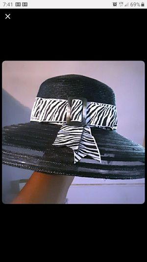 Tiffany custom handmade millinery hat..one of a kind for Sale in New Orleans, LA