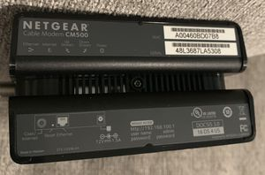 Netgear CM500 Cable Modem for Sale in New Smyrna Beach, FL