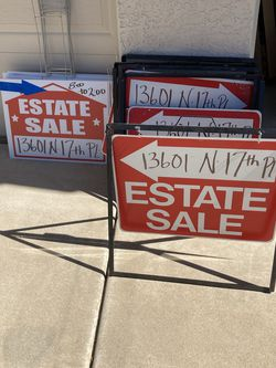 Signs For Estate Sale for Sale in Phoenix,  AZ