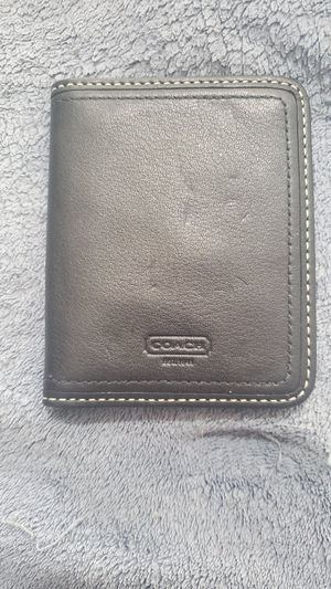 COACH BLACK LEATHER TRAVEL PICTURE FRAME for Sale in Avon, MA