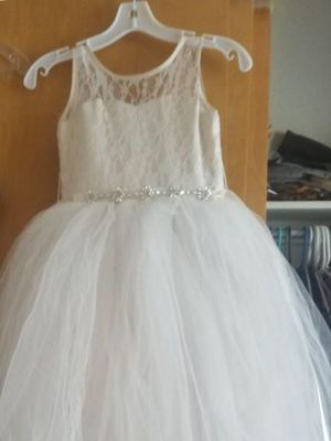 Beautiful flower girl dress. Worn once. Or best offer... for Sale in Parker, CO