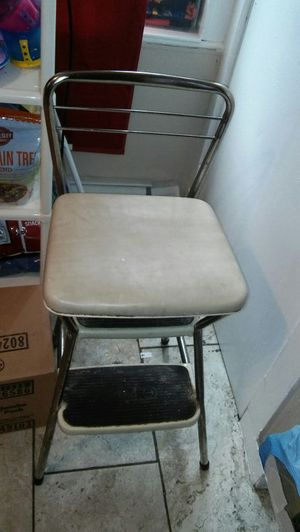 Kitchen seat and step stool for Sale in Waterbury, CT