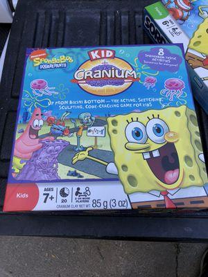 Sponge-bob kids Cranium Board Game for Sale in Alta Loma, CA