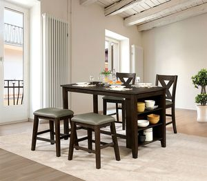 Counter Height Table, 2 Stools & 2 Chairs for Sale in Peoria, AZ
