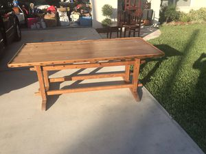 Antique French farmhouse table and chairs for Sale in Boca Raton, FL