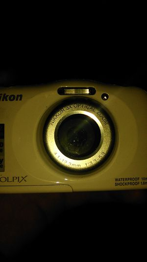 Nikon Coolpix w100 camera for Sale in Modesto, CA