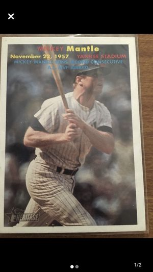 2006 Topps Mickey Mantle for Sale in Spartanburg, SC