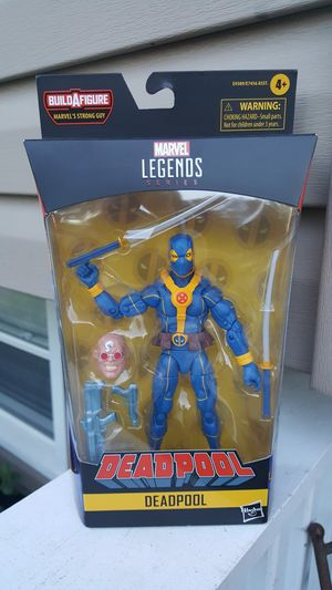 Marvel Legends Deadpool collectible action figure for Sale in Bartlett, IL