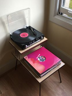 Side Table / Record Player for Sale in Portland,  OR