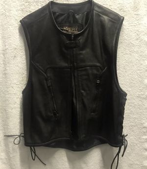 Xpert Performance Motorcycle Gear Men's Leather Vest (Large) Club Vest for Sale in Bronx, NY