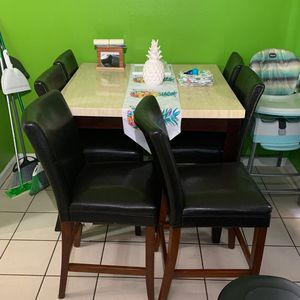 Kitchen Table With 6 Chairs for Sale in Lakeside, CA