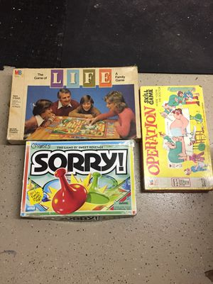 Kids board games all for one price for Sale in Coral Springs, FL