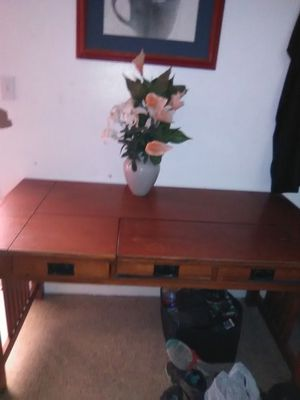 Vase and artificial flowers for Sale in Visalia, CA