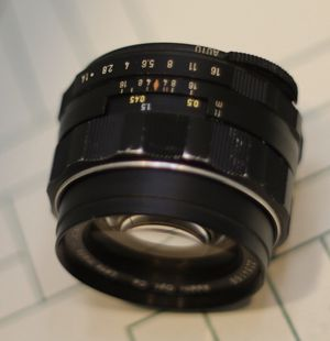 Vintage Asahi Pentax Super-Takumar 50mm f1.4 M42 Mount Lens. for Sale in Riverside, CA