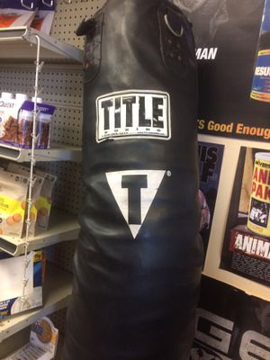 TITLE THIA BOXING PUNCHING BAG!!! for Sale in Fort Lauderdale, FL