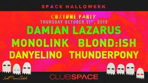 Halloween Party at Space for Sale in Miami, FL
