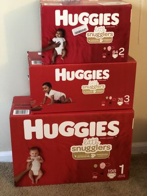 Huggies Diapers ALL SIZES for Sale in MAYFIELD VILLAGE, OH
